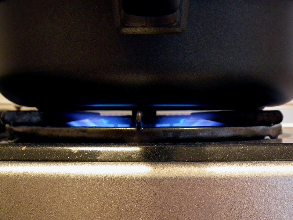 調理の際は、中火以下が基本